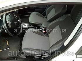 Качественные автомобильные чехлы на сиденья Mitsubishi Lancer X 2l, Premium style