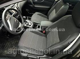 Качественные автомобильные чехлы на сиденья Nissan Xtrail T32, Premium style