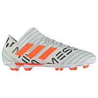 Бутсы adidas Nemeziz Messi 17.3 FG White SolOrange - Оригинал 447a8fb0fe483