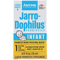 Пробиотики жидкие капли, для младенцев, 15 мл, Jarrow Formulas