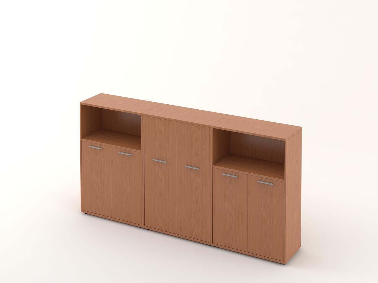 Комплект мебели для персонала серии Техно плюс композиция №14 ТМ MConcept