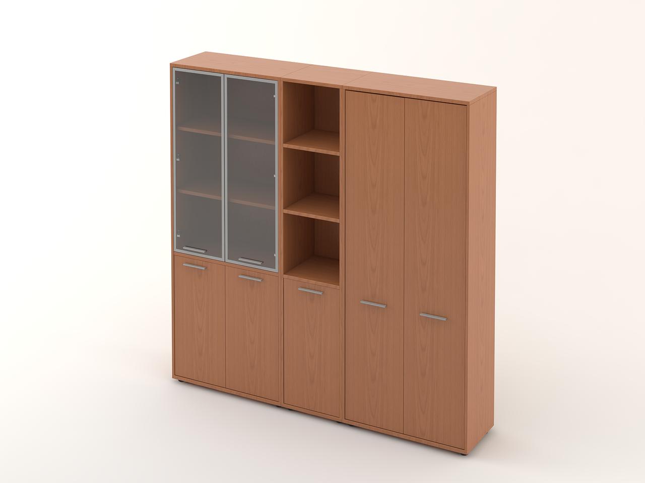 Комплект мебели для персонала серии Техно плюс композиция №16 ТМ MConcept