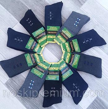 Шкарпетки чоловічі термо махрові бамбук Алія Житомир, розмір 42-48, асорті,
