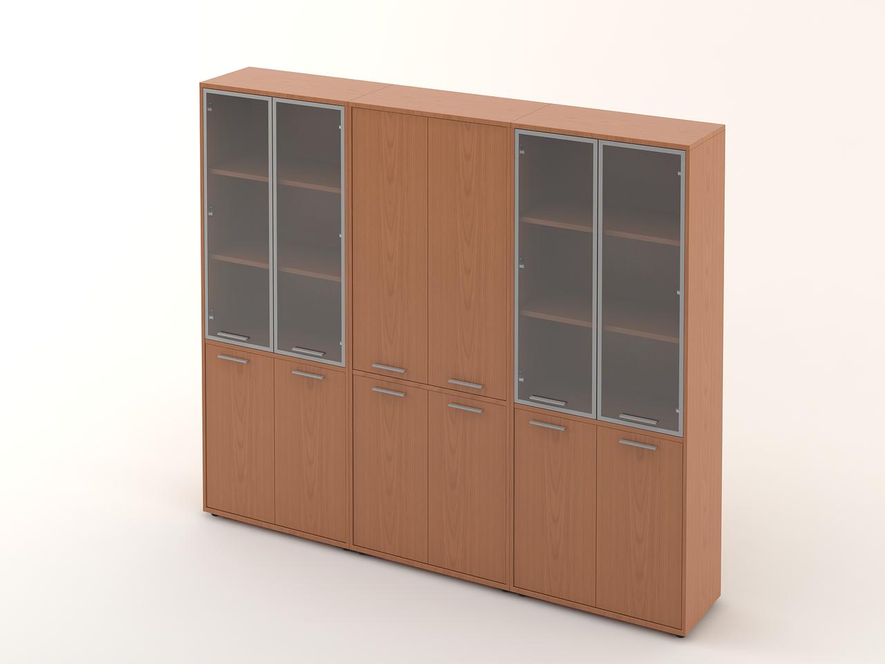 Комплект мебели для персонала серии Техно плюс композиция №18 ТМ MConcept