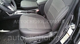 Качественные автомобильные чехлы на сиденья Subaru Forester 2016, Premium style