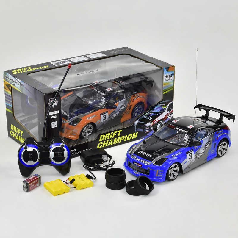 Машина 333 - Р011 (16) р/у, на аккум. 7.2V, 2 цвета, в коробке