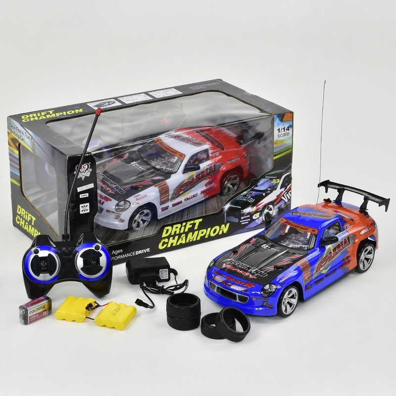 Машина 333 - Р013 (16) р/у, на аккум. 2 цвета, 7.2V, в коробке