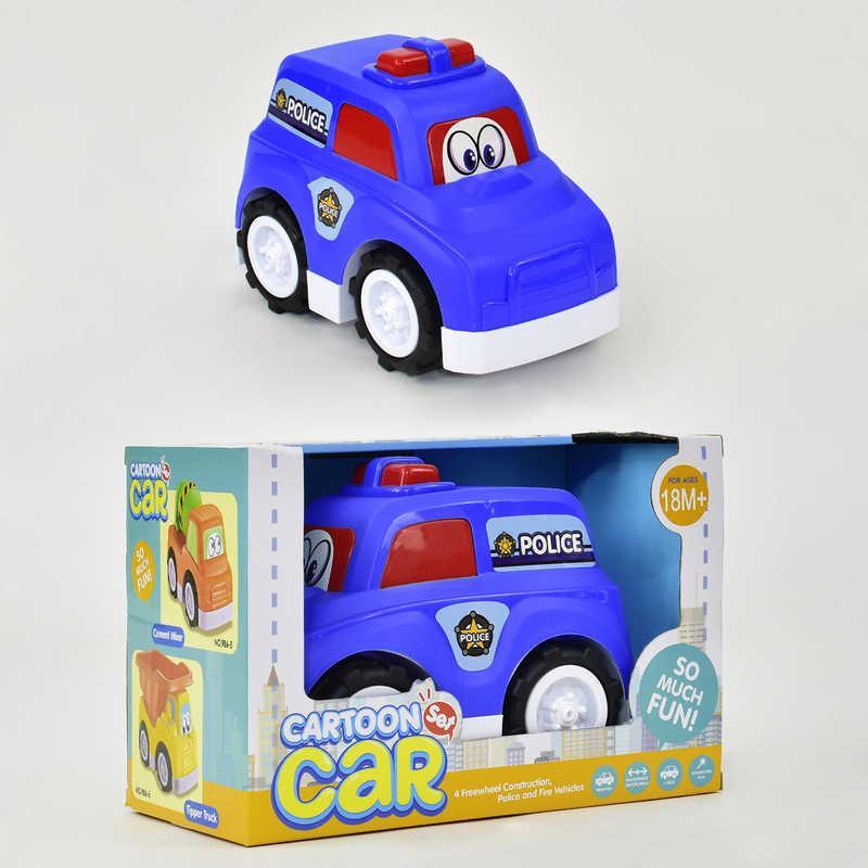 """Машина 986-8 """"Полиция"""" (24) в коробке"""
