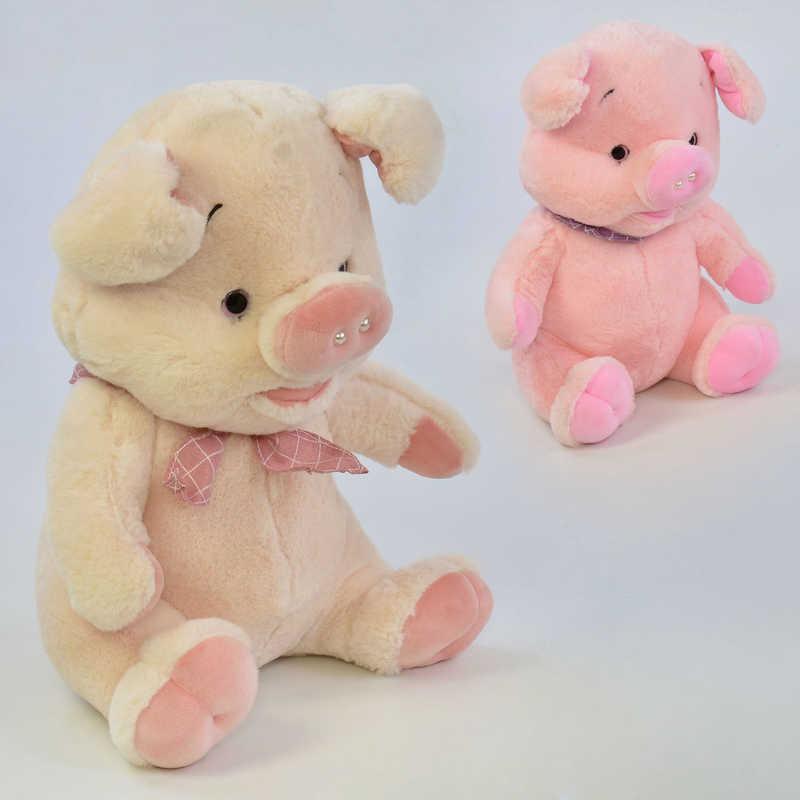 Мягкая игрушка Свинка C 31187 (48) высота 36см, 2 цвета