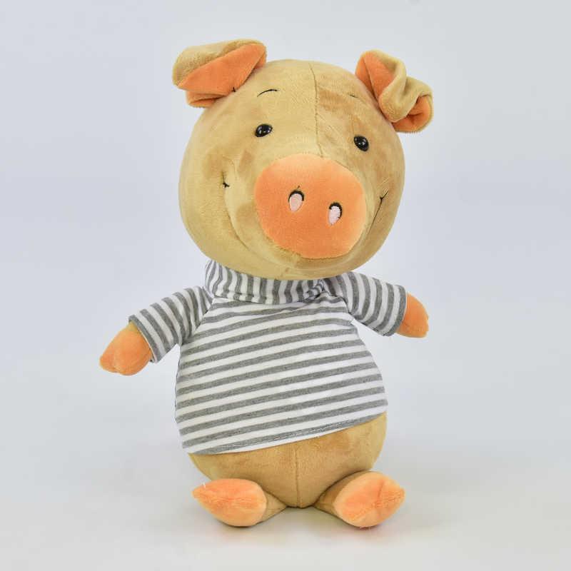 Мягкая игрушка Свинка C 31222 (60) 1 вид, высота 30см