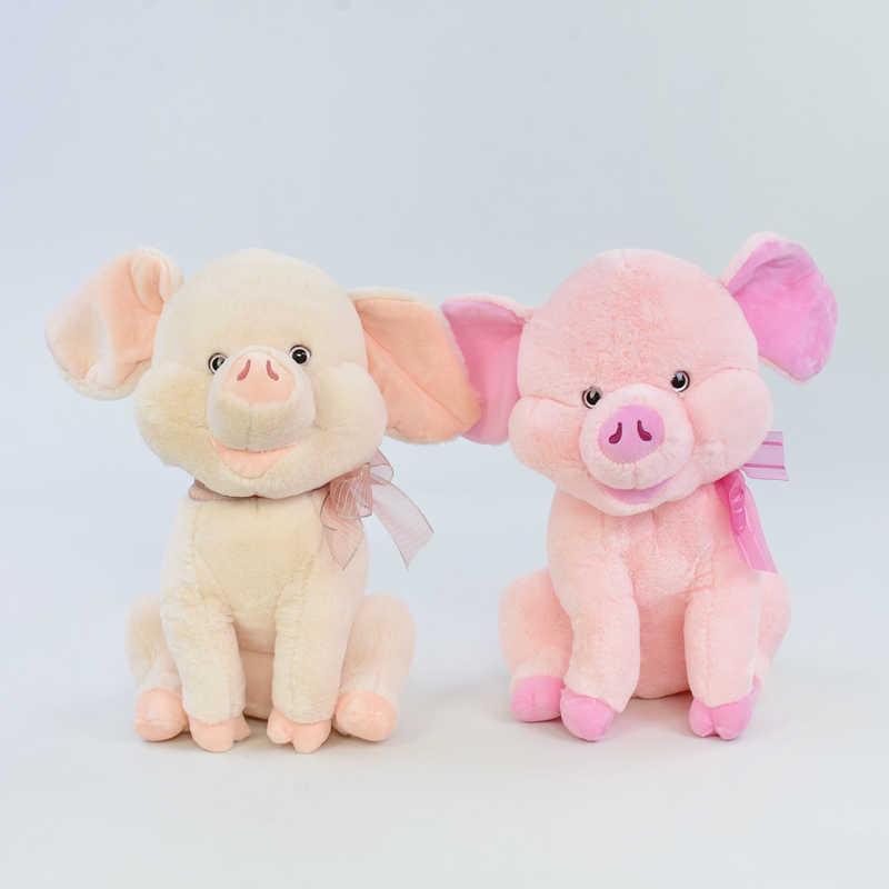 Мягкая игрушка Свинка С 31189 (30) высота 39см, 2 вида