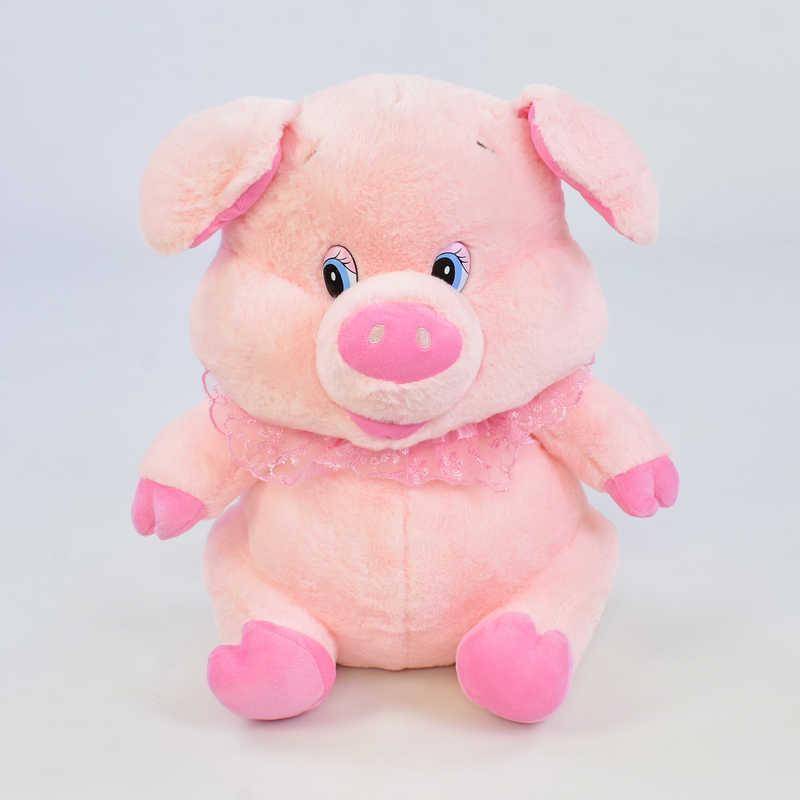 Мягкая игрушка Свинка С 31192 (30) 1 вид, высота 35см