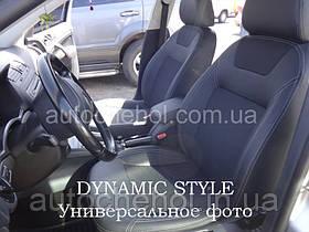 Качественные авточехлы модель динамик на Mitsubishi Outlander 2012. MW Brothers
