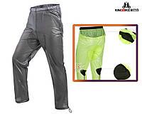 """Вело-штаны непродуваемые непромокаемые ливневые """"дышащие"""" """"KINGBIKE"""" JBK-718A с вентиляцией и мини-памперсом"""
