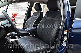 Качественные авточехлы модель динамик на Suzuki Vitara 2017. MW Brothers