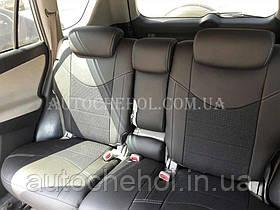 Качественные авточехлы модель динамик на Toyota Rav 4 2007. MW Brothers