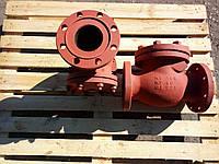 Клапан обратный 19с53нж Ду100 Ру40 Т-450С поворотный с ревизионным люком фланцевый
