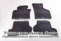 Качественные резиновые коврики в салон Audi A6 2012, Stingrey, 2 штуки