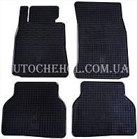 Качественные резиновые коврики в салон BMW 5 E 60 2003, Stingrey, 2 штуки