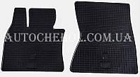 Качественные резиновые коврики в салон BMW X6 E71 2008, Stingrey, 2 штуки