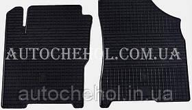 Качественные резиновые коврики в салон Chery A13, Stingrey, 2 штуки