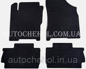 Качественные резиновые коврики в салон Chery A13, Stingrey, КОМПЛЕКТ