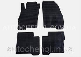Качественные резиновые коврики в салон Fiat Linea 2007 Stingrey, КОМПЛЕКТ