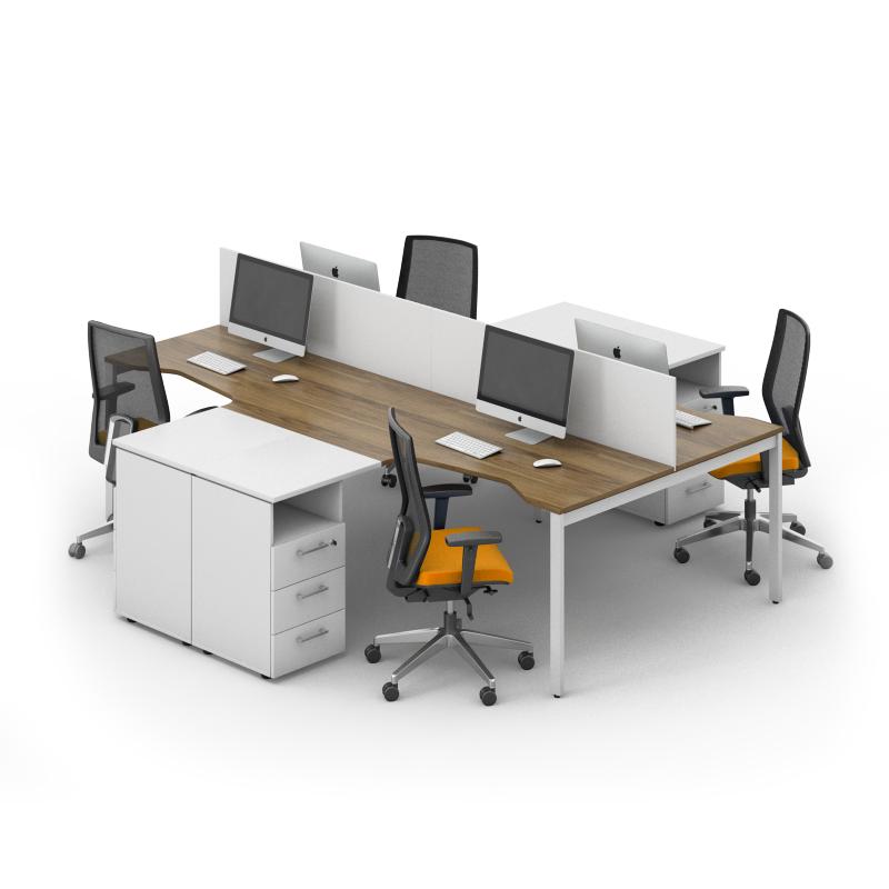 Комплект мебели для персонала серии Джет композиция №7 ТМ MConcept