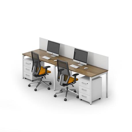 Комплект мебели для персонала серии Джет композиция №9 ТМ MConcept, фото 2