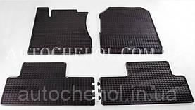 Качественные резиновые коврики в салон Honda CR-V 2013, Stingrey, КОМПЛЕКТ
