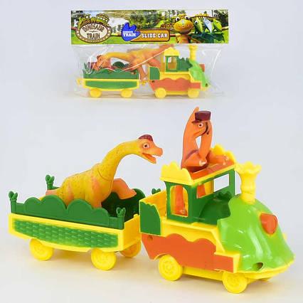 """Паровоз XZ 550 """"Динозавры"""" (168/2), в кульке"""