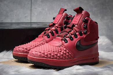 Зимние ботинки на меху Nike LF1 Duckboot, бордовые (30402),  [  42 (последняя пара)  ]