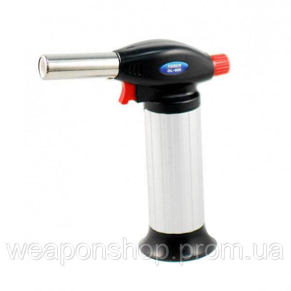Туристическая газовая горелка с пьезоподжигом, Turbo Torch OL-600 (Guangzhou), доставка по Украине