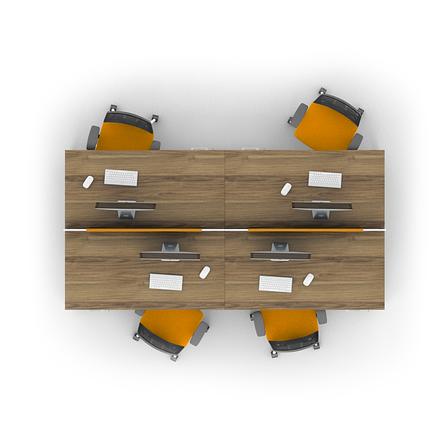 Комплект мебели для персонала серии Джет композиция №12 ТМ MConcept, фото 2