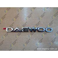 "Надпись \""DAEWOO\"" на багажник"