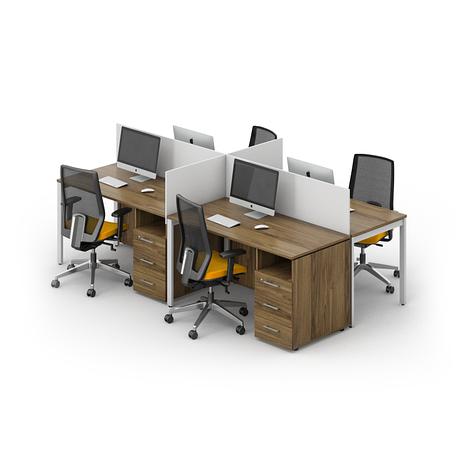 Комплект мебели для персонала серии Джет композиция №15 ТМ MConcept, фото 2