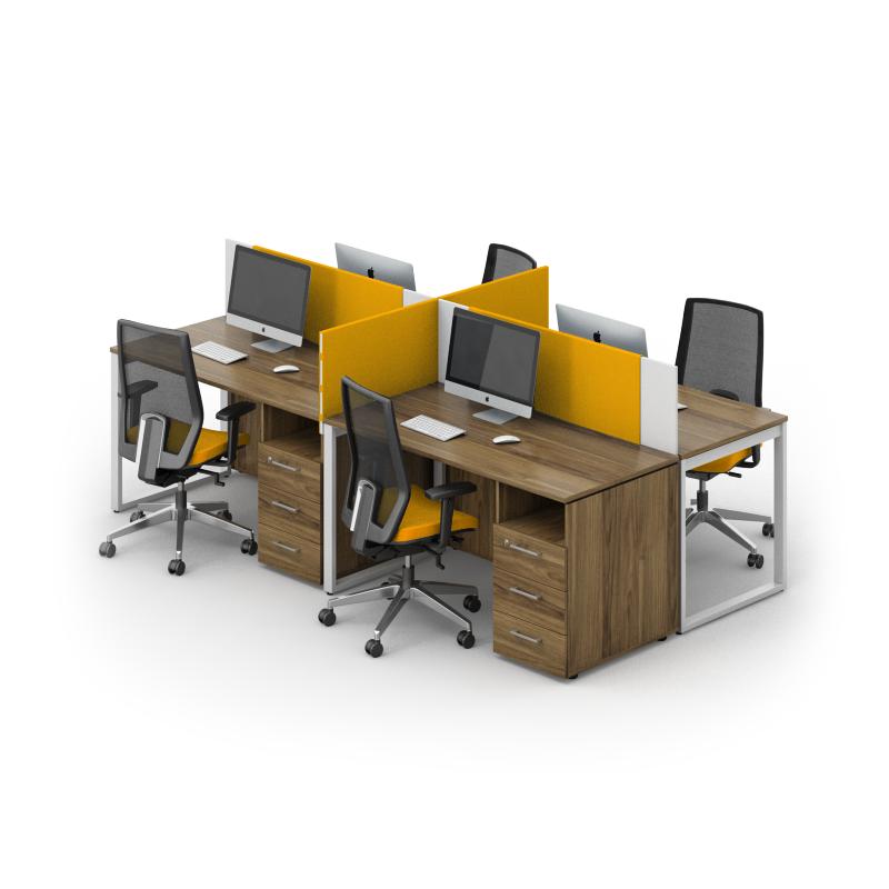 Комплект мебели для персонала серии Джет композиция №16 ТМ MConcept