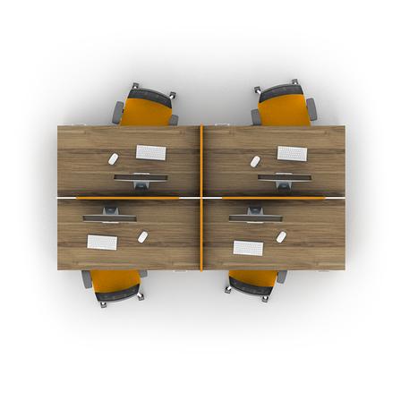 Комплект мебели для персонала серии Джет композиция №16 ТМ MConcept, фото 2