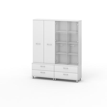 Комплект мебели для персонала серии Джет композиция №21 ТМ MConcept, фото 2