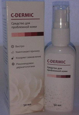 C-dermic - гель от псориаза (Це-Дермик), фото 2