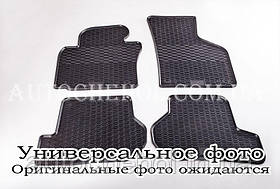 Качественные резиновые коврики в салон Porshe Cayenne 2010, Stingrey, 2 штуки