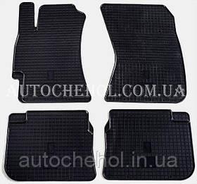 Качественные резиновые коврики в салон Subaru Legacy 2004 - 2015, Stingrey, КОМПЛЕКТ