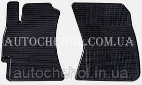 Качественные резиновые коврики в салон Subaru Legacy 2009 - 2015, Stingrey, 2 штуки