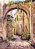 Фото двориков-фрески-печать и нанесение фресок