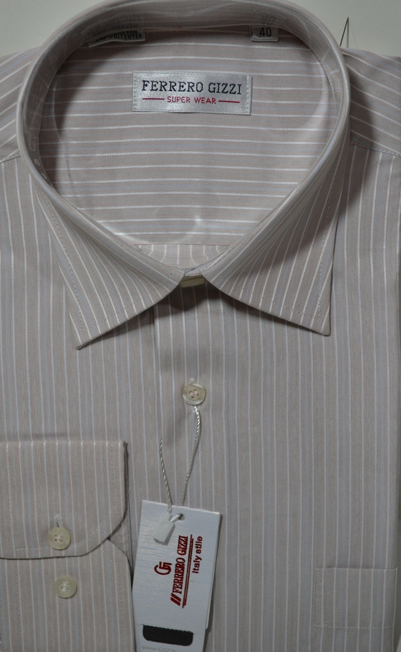 Мужская рубашка FERRERO GIZZI (размеры 40)