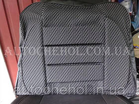 Качественные серые авточехлы из автоткани, на ВАЗ 2106, ПРЕСТИЖ