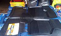 Качественные черные резиновые коврики на ВАЗ 2110