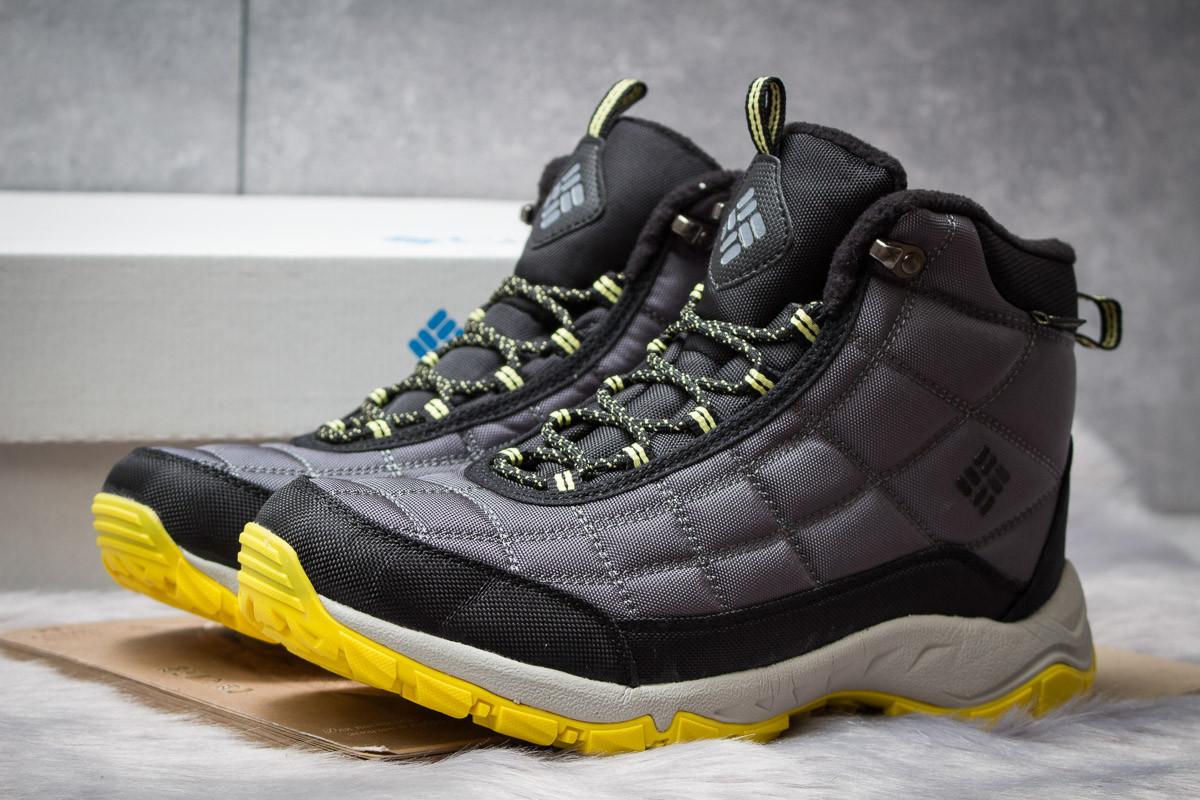 Зимние ботинки на меху  Columbia Omni-Grip, черные (30423),  [  44 (последняя пара)  ]