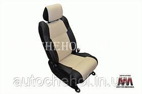 Качественные чехлы на сиденья Chevrolet Aveo хетчбек, авточехлы авео хетчбк эко кожа, AM-X, automania