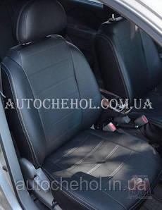 Качественные чехлы на сиденья Chevrolet Aveo хетчбек, серая нить, AM-S, automania